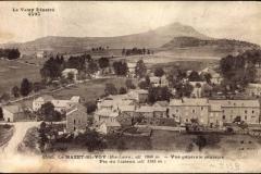 carte postale ancienne Mazet st Voy